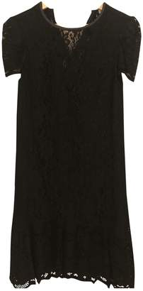 Whistles Black Lace Dress for Women