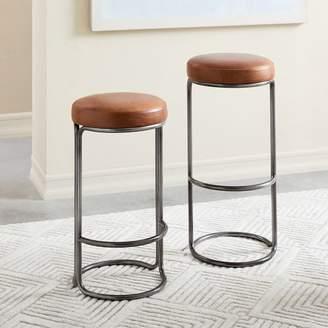 Surprising West Elm Stool Shopstyle Ibusinesslaw Wood Chair Design Ideas Ibusinesslaworg