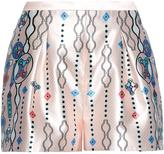 Peter Pilotto Geo abstract-print silk shorts