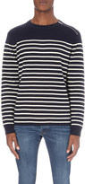 The Kooples Striped knitted jumper