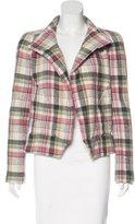 Isabel Marant Long Sleeve Plaid Jacket