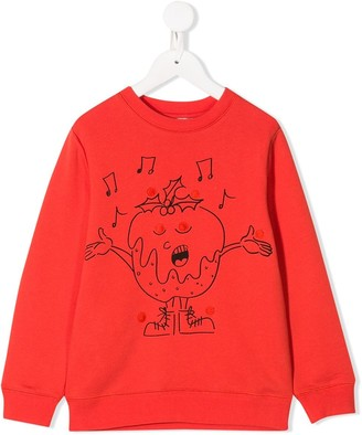 Stella McCartney singing print sweatshirt