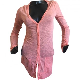 Topshop Tophop Pink Cotton Jacket for Women