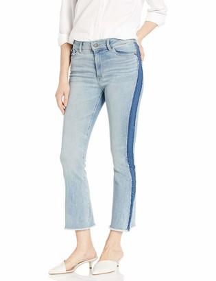 DL1961 Women's Bridget High Rise Bootcut fit Crop Jeans
