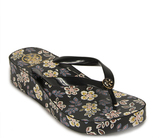 Tory Burch Classic Wedge Flip Flop - Printed Thong