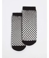 Dorothy Perkins Womens Black Fishnet Socks- Black