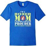 Women's I'm A Boxer Dog Mom Gift Mother Women Animal Dogs T-shirt Medium