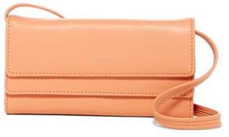 Matt & Nat May Vegan Leather Foldover Wallet Crossbody Bag
