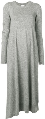 Barrie Bright Side cashmere dress