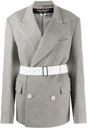 Junya Watanabe Belted Blazer Coat