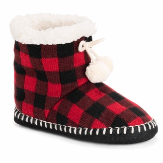 Muk Luks Women's Bootie Slippers Sock