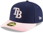 New Era Tampa Bay Rays 2019 Mother's Day On-Field Low Profile 59FIFTY Fitted Hat - Navy/Pink