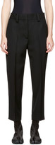 Acne Studios Black Trea Trousers