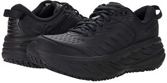 Hoka One One Bondi SR (Black/Black) Women's Shoes