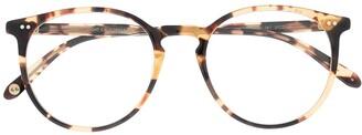 Garrett Leight Morning Side round-frame glasses