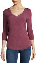 A.N.A a.n.a 3/4 Sleeve T-Shirt- Tall