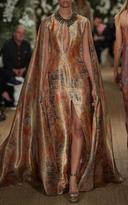 Ralph Lauren Patrice Cape Gown