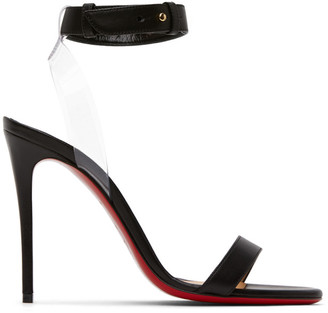 Christian Louboutin Black Jonatina 100 Sandals