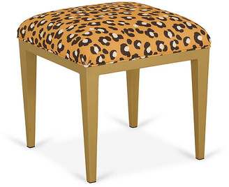 Pleasant Leopard Ottoman Shopstyle Ncnpc Chair Design For Home Ncnpcorg