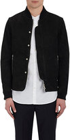 Officine Generale Men's Efy Nubuck Bomber Jacket