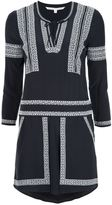 Veronica Beard 'Ignacio' embroidered dress - women - Silk/Polyester/Spandex/Elastane - 2