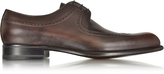 a. testoni A.Testoni Moro Washed Leather Derby Shoe