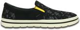 Crocs Black & White Norlin Summer Fun Slip-On Sneaker - Men
