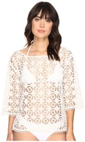 Nicole Miller La Plage By Crochet Beach Cover-Up