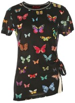 Rene Derhy T-Shirt with Short Butterfly Sleeves