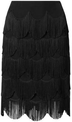 Marc Jacobs Fringed Crepe Skirt