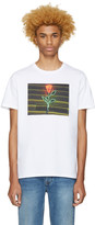 A.P.C. White La Rose T-shirt