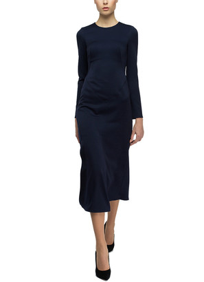 BGL Wool-Blend Midi Dress