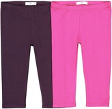 La Redoute Collections Big Girls Ribbed Leggings 3-12 Years