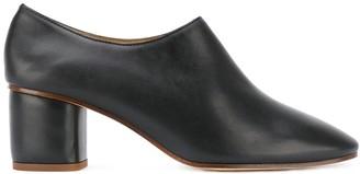 Joseph mid heel pumps