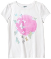 Crazy 8 Sparkle Butterfly Tee
