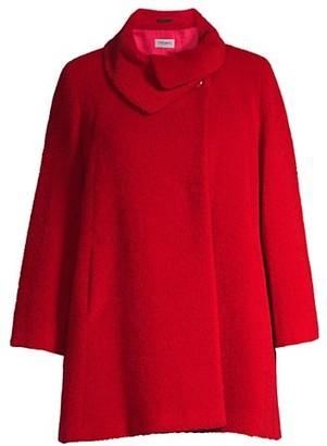 Cinzia Rocca, Plus Size Turtleneck Coat