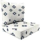 Bronx 2 Piece Indoor/Outdoor Lounge Chair Cushion Ivy