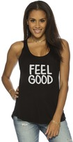 Peace Love World Feel Good Boyfriend Tank