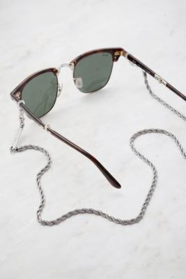 Frame Chain Roller Sunglasses Chain - White ALL at Urban Outfitters