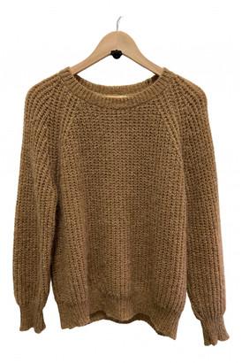 Vicolo Beige Synthetic Knitwear