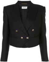 Saint Laurent cropped blazer