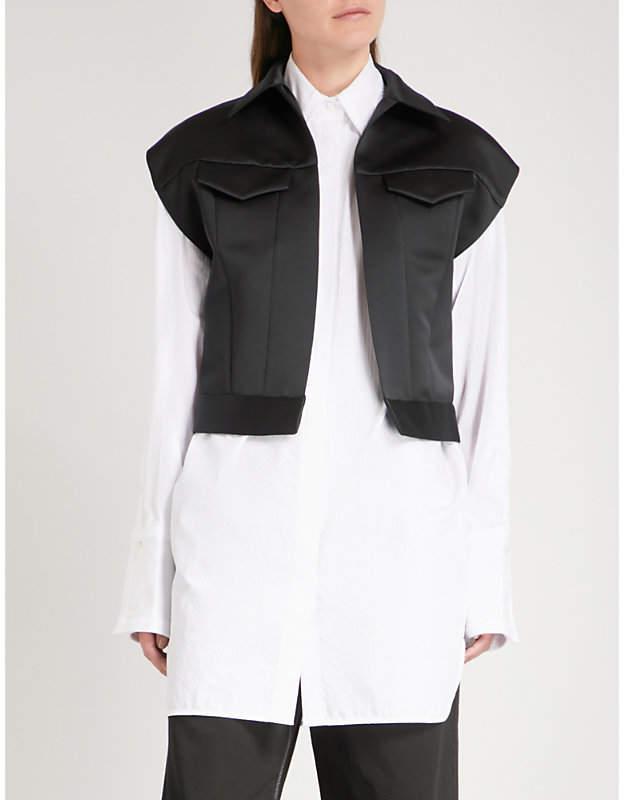 Maison Margiela Duchess satin jacket