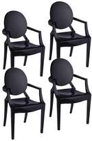 Bentley Pangea Home Arm Dining Chairs, Set of 4