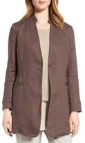 Eileen Fisher Women's Organic Linen Jacket
