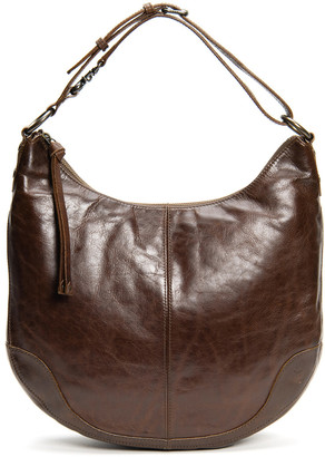 Frye Melissa Scooped Leather Hobo