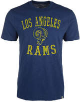 '47 Men's Los Angeles Rams Retro Logo Scrum T-Shirt