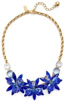 Kate Spade 'blooming Brilliant' Crystal Frontal Necklace