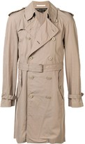 Comme des Garcons Pre Owned knee length trench coat