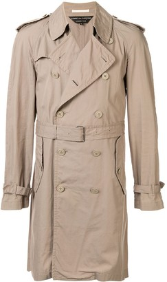 Comme Des Garçons Pre Owned Knee Length Trench Coat