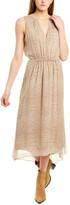 Joie Hilarie Silk Midi Dress
